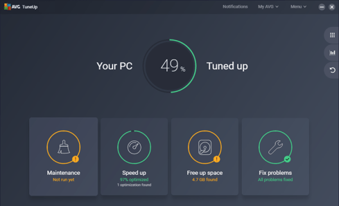 AVG PC TuneUp 2019 19.1.1098 License key + Full Crack
