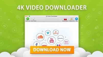 4K Video Downloader 4.11.3.3420 Crack License KEY 32/64 Bit