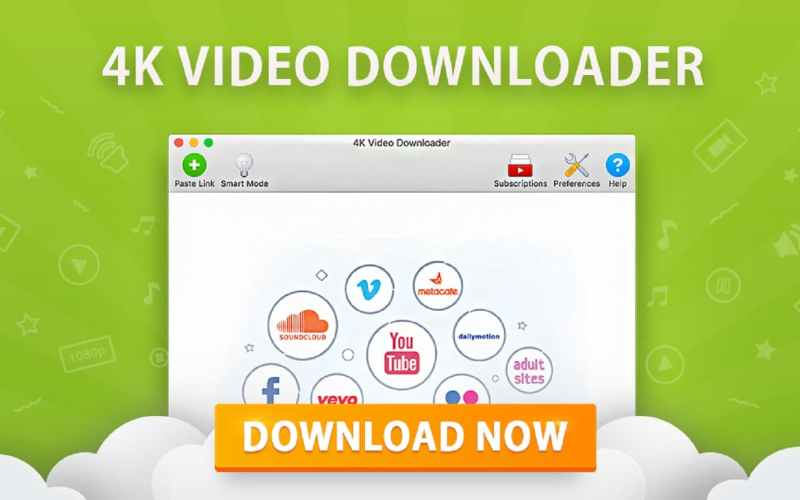 4K Video Downloader 4.9.3.3112 Crack License KEY 32/64 Bit