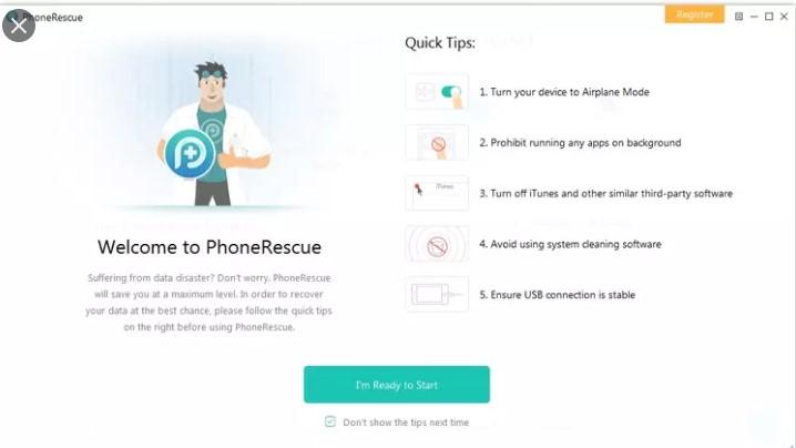 PhoneRescue 4.0.2 Crack Torrent With Activation Code Free