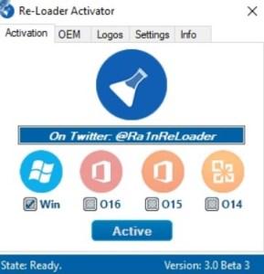 Re-Loader Activator 3.4 Windows & Office {Full}