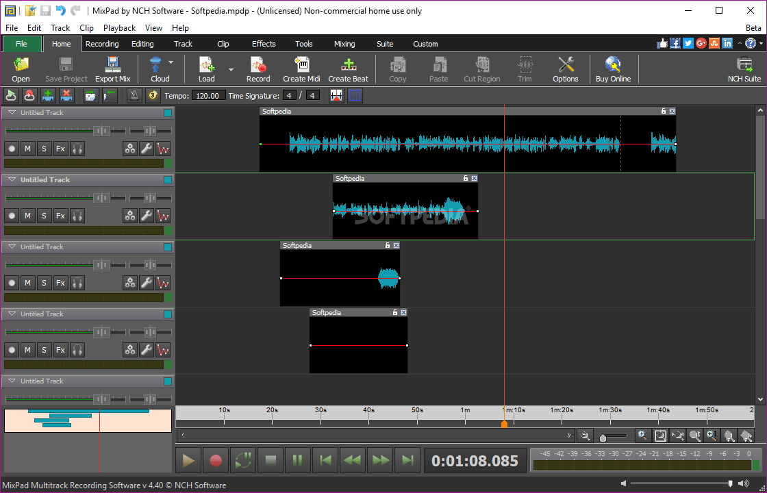 MixPad 7.77 Crack Plus Registration Code Full Download 2022
