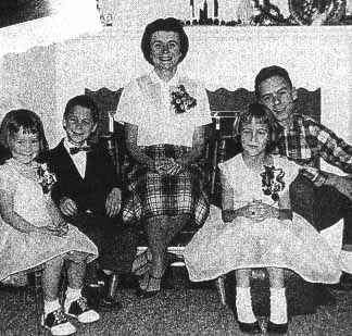 ted bundy family photo