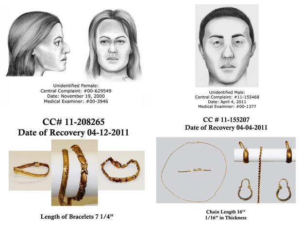 Long Island Serial Killer Unidentified victims and clues