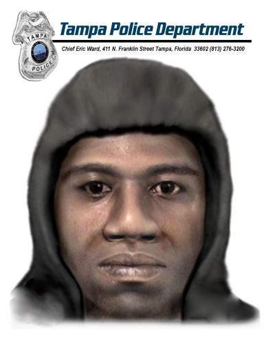 Tampa serial killer sketch