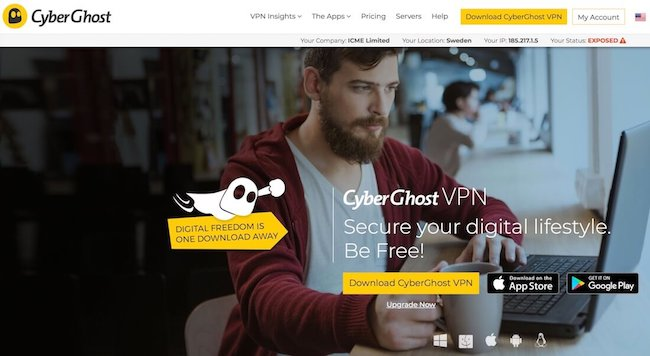 CyberGhost VPN 2020 Crack With Serial Number + Free Download