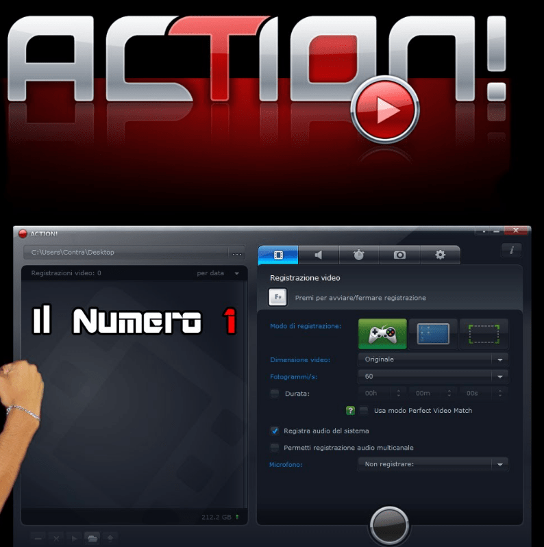 Mirillis Action! 3.10.0 Crack & License Key Full Free Download