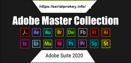 Adobe Master Collection CC 2020 Crack Plus Serial Key Latest