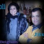 Jitu Nepal 'Mundre' and Komal Oli in Belgium