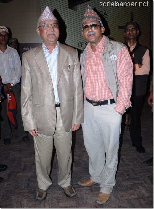 sitaram Kattel with real kp oli
