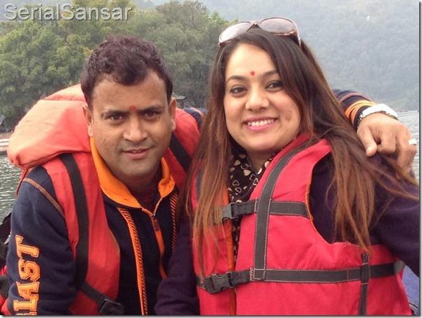 Mundre jitu nepal celebrates th marriage anniversary u serial