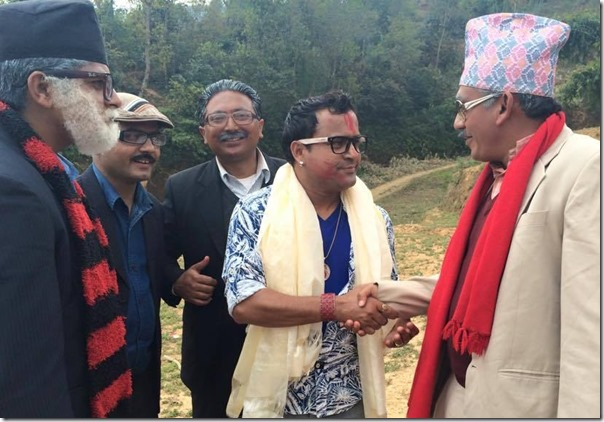 mundre meets the leaders in meri bassai village