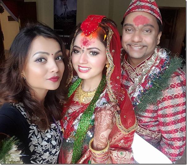 simpal khanal with namrata