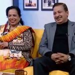 Rajaram Poudel and his wife in Jeevan Saathi