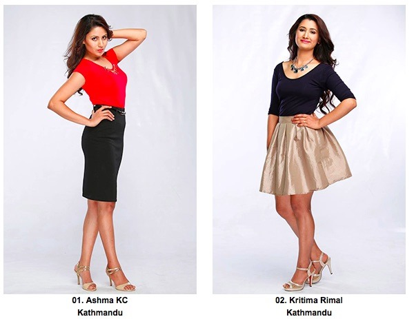 1 2 miss Nepal kritima rimal and Aasma KC