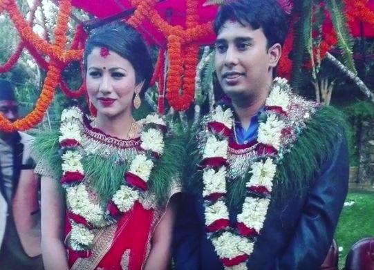 Hari Bamsha's Son Mohit Bamsha Acharya engaged to Bindu Thapa