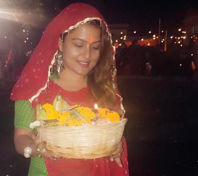rekha-thapa-chhath-festival