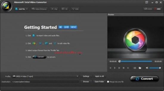 Aiseesoft Total Video Converter Full Crack