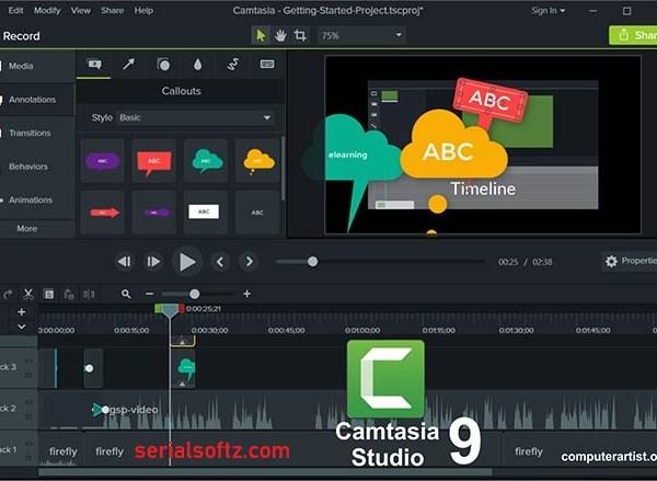 Camtasia Studio Serial key
