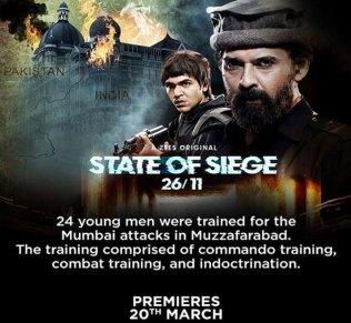 State of Siege 26 11 Zee5 Web Series