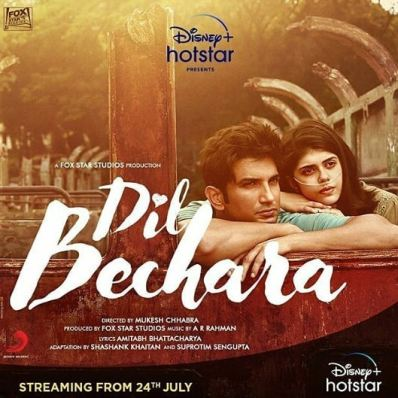 Dil Bechara Full Movie HD Torrent Download Watch Online