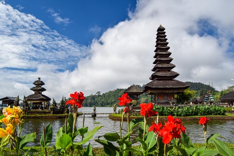 Pura Ulun Danu Bratan, le temple sur l'eau