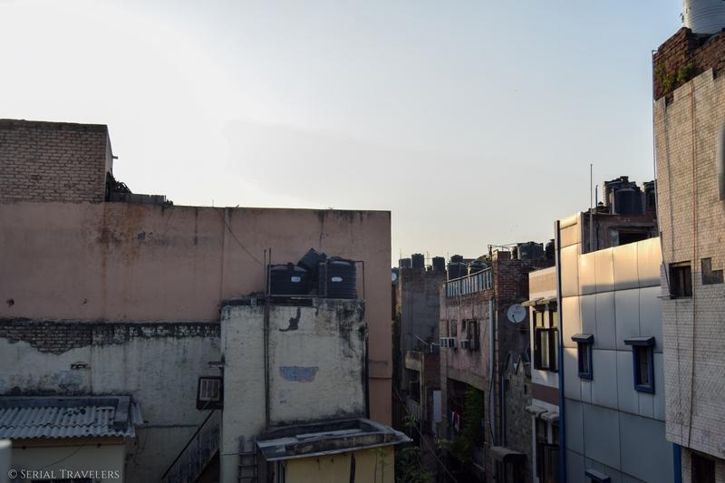 Arrivée à Delhi : le CHOC !