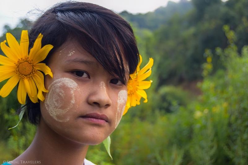Le vrai pays du sourire : portraits de Birmans