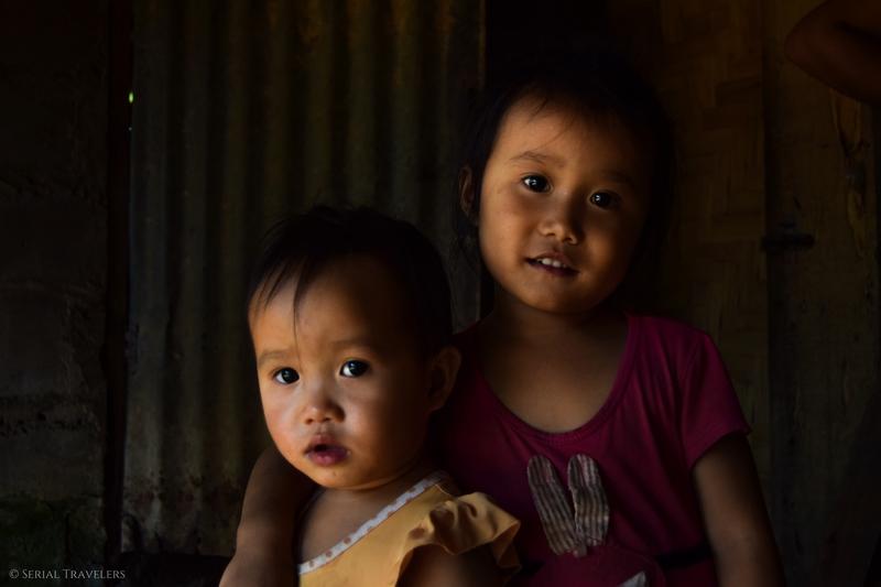 Le pays de la tendresse : portraits d'enfants laotiens