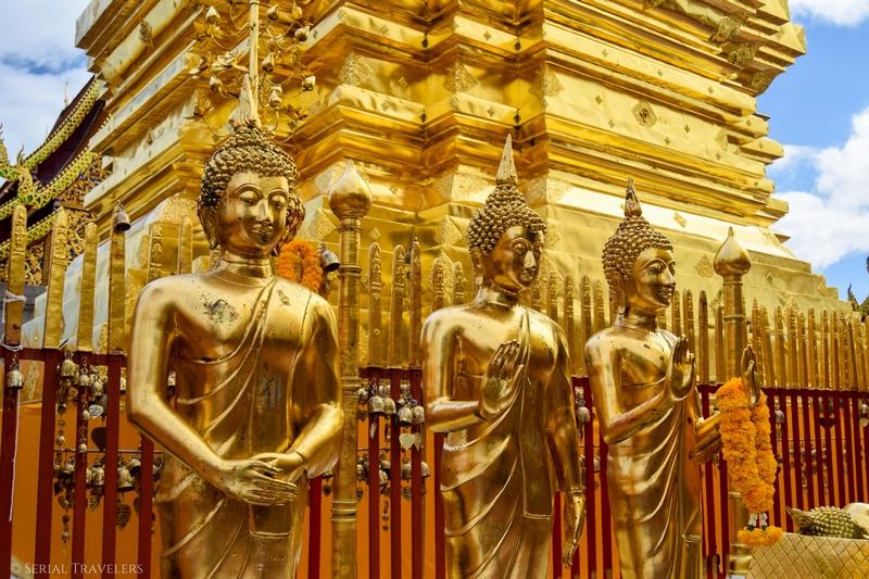 Chiang Mai, touristique mais sympathique capitale du Nord!