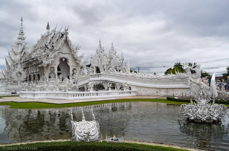Wat Rong Khun, le temple blanc de Chiang Rai