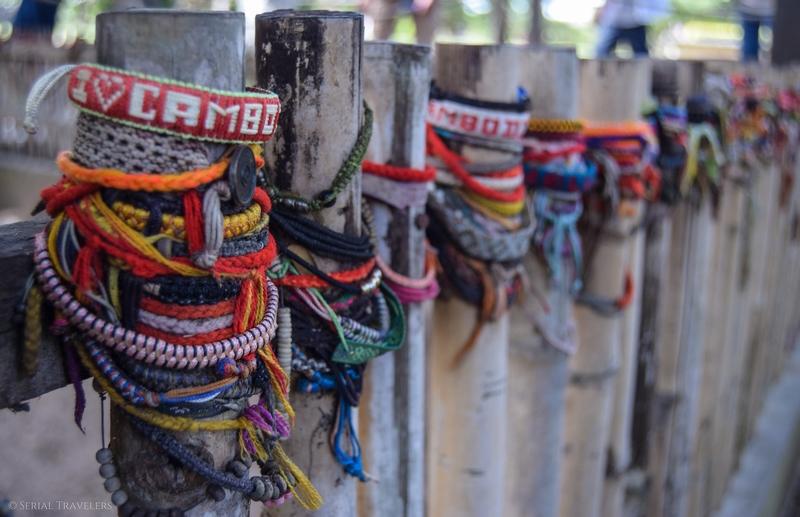 Visite du mémorial de Choeung Ek (killing fields) à Phnom Penh