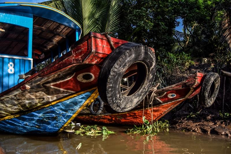 Une journée sur le delta du Mékong