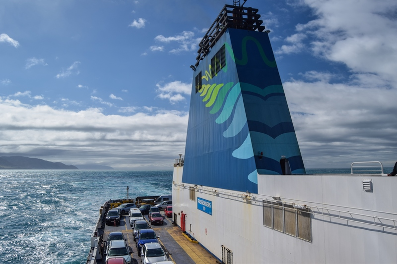 Traversée en Ferry du Nord au Sud : de Wellington à Picton