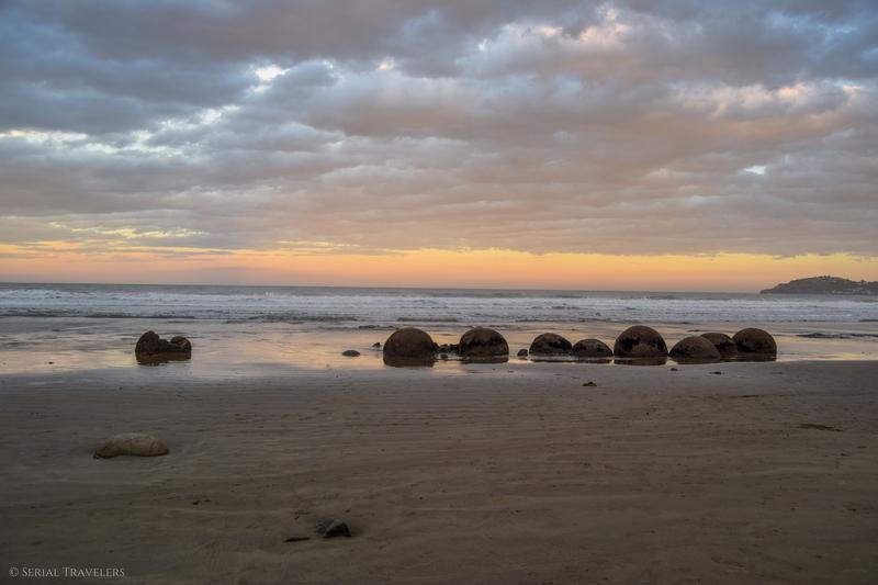 Moeraki, ses énigmatiques boulders et sa colonie d'otaries