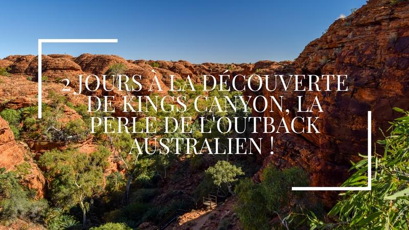 2 jours à la découverte de Kings Canyon, la perle de l'Outback australien !