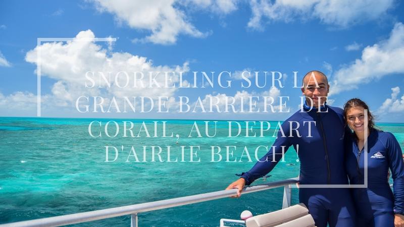 Snorkeling sur la Grande Barrière de Corail, au départ d'Airlie Beach !