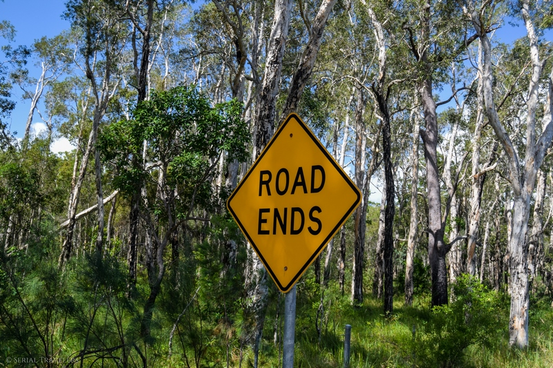 serial-travelers-australie-roadtrip-cairns-brisbane-mooloolah-river-national-park-road-ends
