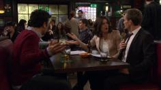 Ted, Robin y Barney