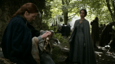 Catelyn Tully y Jeyne Westerling