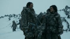Mance Rayder y John Snow