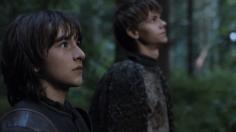 Bran Stark y Jojen Reed