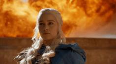 Daenerys de la Tormenta, de la casa de los Targaryen de la sangre de la Vieja Valyria.