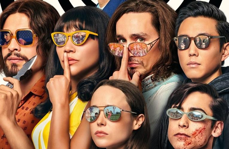 'The Umbrella Academy' presenta el cast de la Sparrow Academy