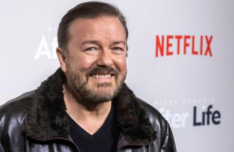 Ricky Gervais tendrá tres nuevas series en Netflix