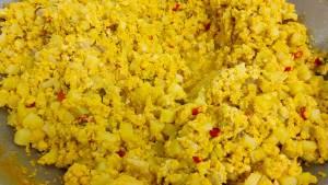 Chicken Salted Egg Yolk Rissoles Filling