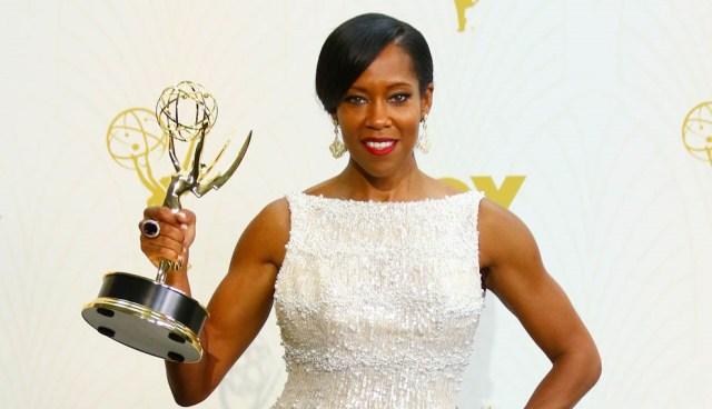 Regina King levou o Emmy esse ano de Melhor Atriz Coadjuvante pelo seu papel em American Crime