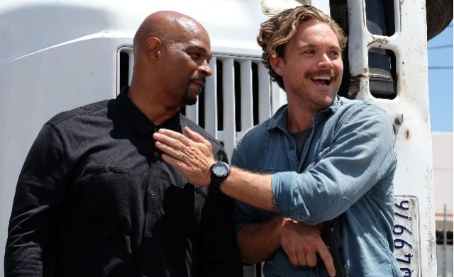 Damon Wayans e Clayne Crawford em Lethal Weapon
