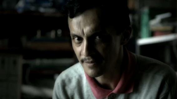 Marcus de Andrade em cena na série Contos do Edgar (Fox Brasil, 2013), interpretando o protagonista Edgar.