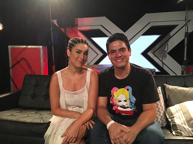 Fernanda Paes Leme e Michel Arouca (Não é vergonha. Estou queimado de sol. rs)